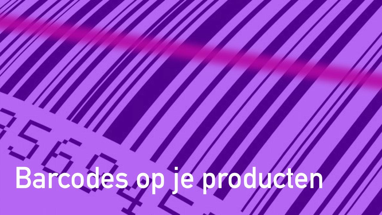 Barcodes op je producten